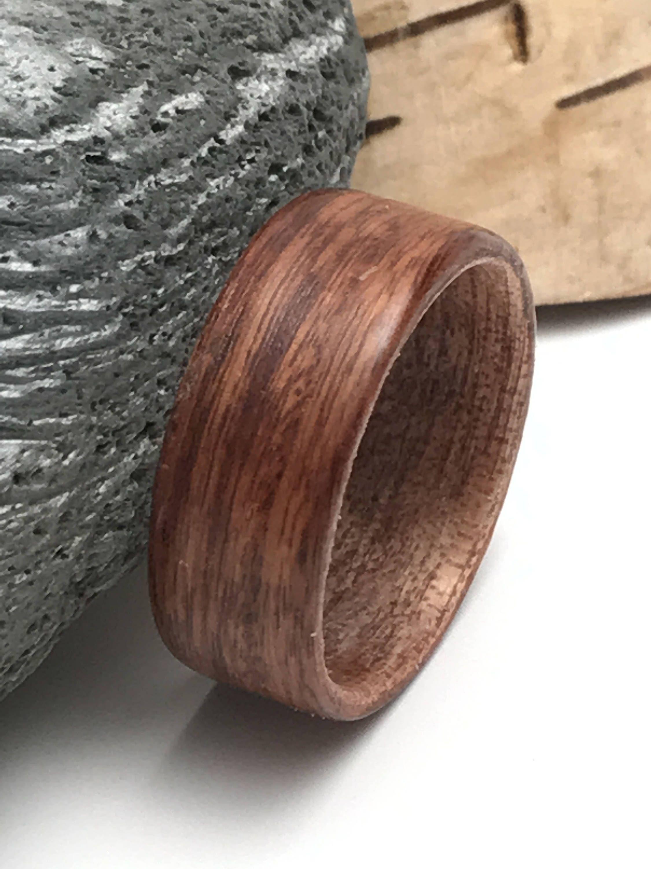 Bague en bois homme