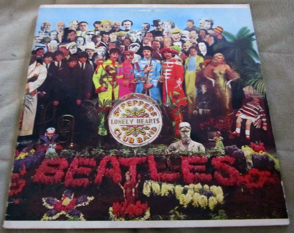The Beatles Sgt Pepper Album Mono W Cut Outs On Capital