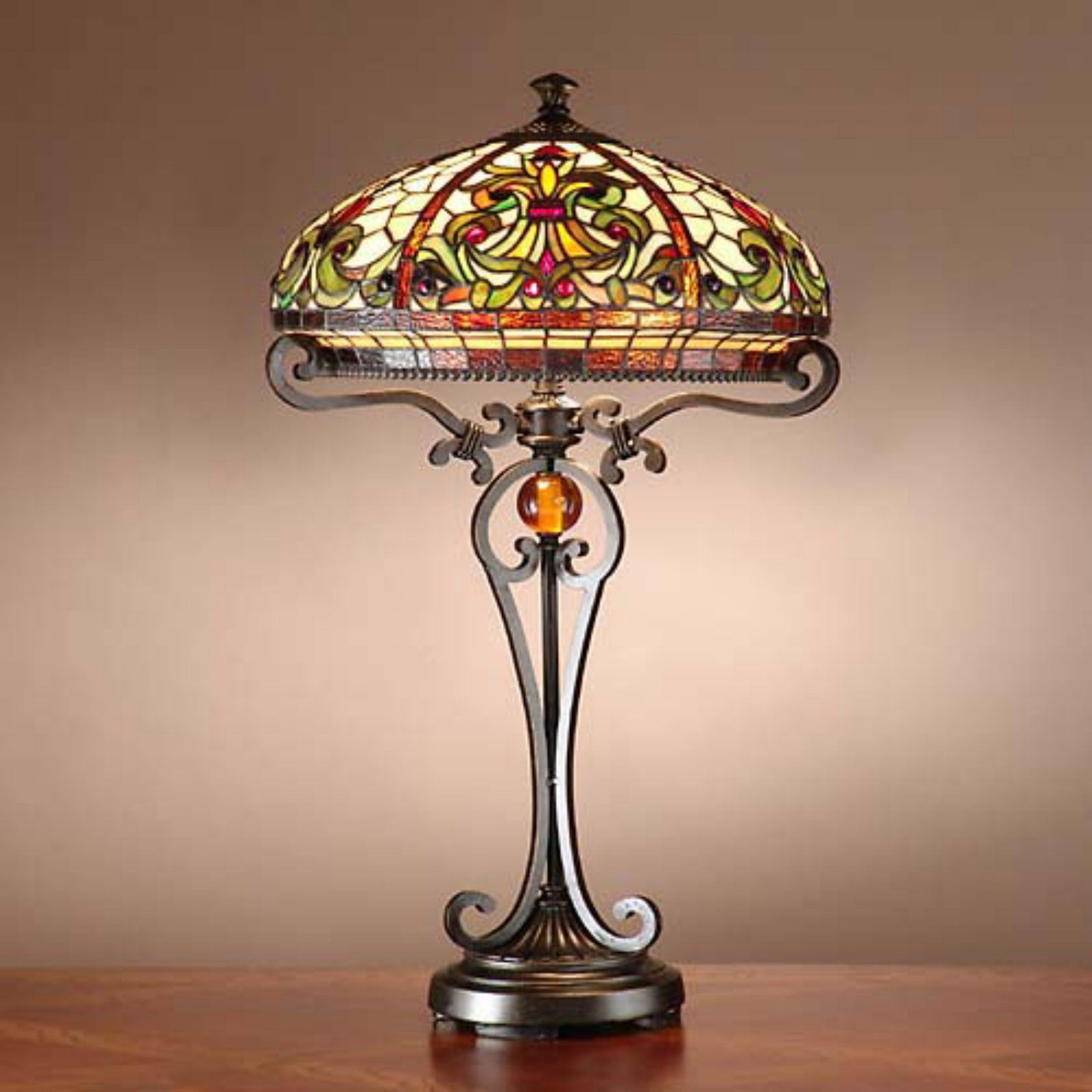 Dale Tiffany Tt101114 Boehme Tiffany Table Lamp Vidrieras Tiffany Lamparas Art Deco Lamparas De Tiffany