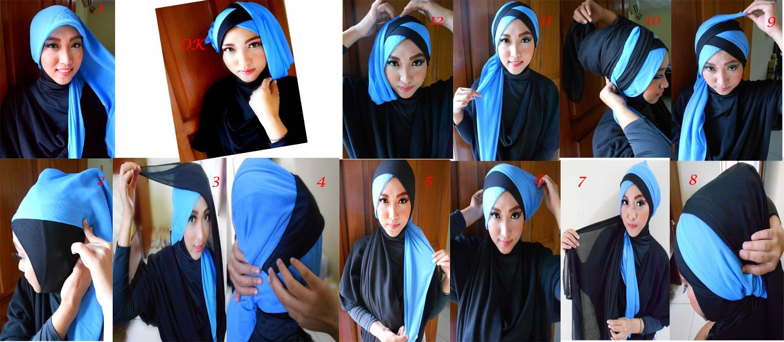 Tutorial Hijab Turban Layer Finally Tutorial Ini Jadi