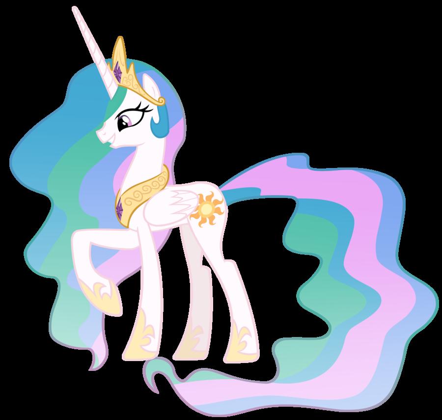 Princess Celestia Vector By Misterlolrus On Deviantart Princess Celestia Nightmare Moon My Little Pony