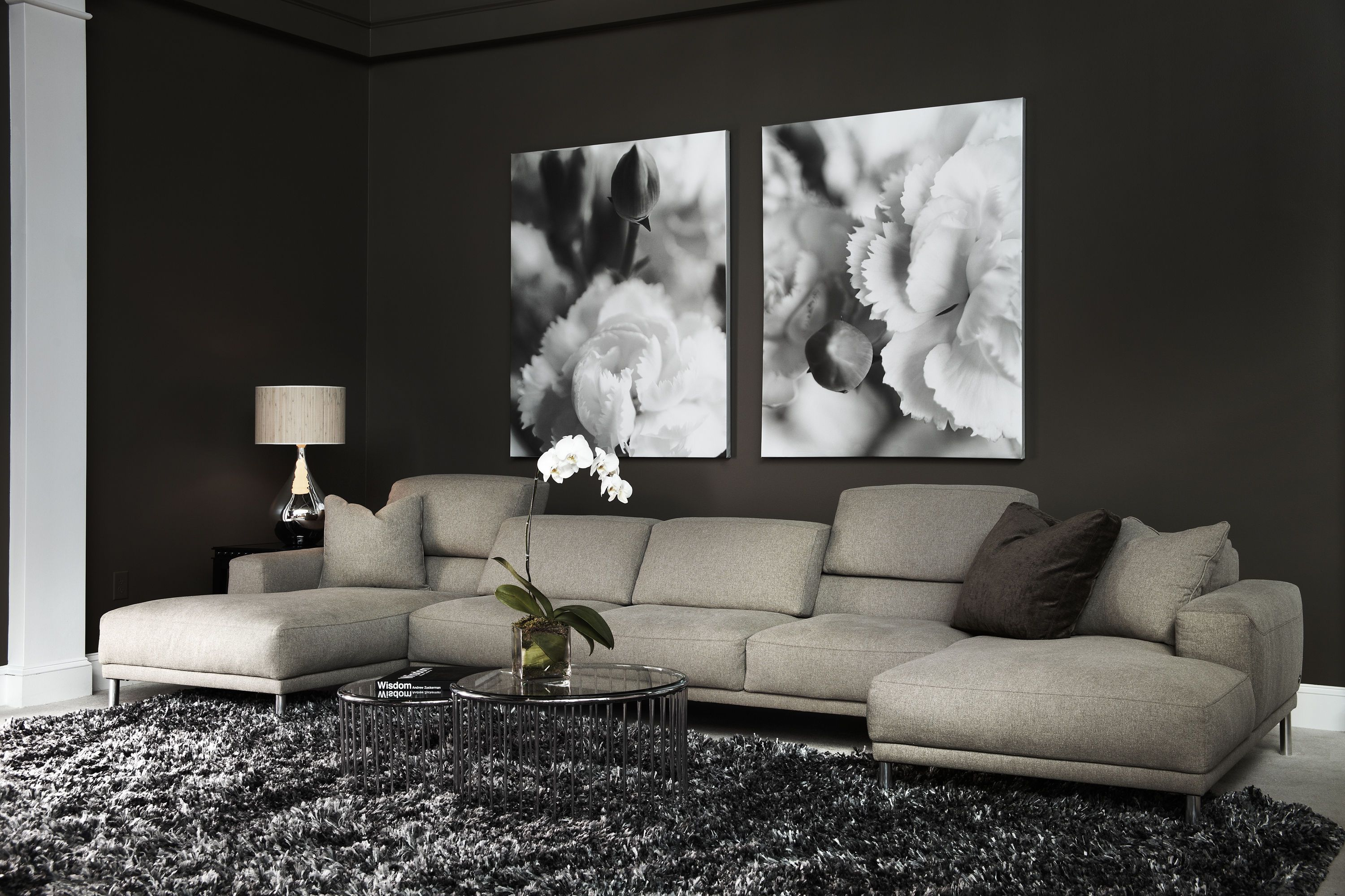 American Leather Living Room Meyer Sectional   Gallatin Valley Furniture  Carpet One   Bozeman,