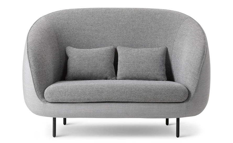 Haiku Tall Two Seat Sofa Fredericia Furniture Lounge Seating 2 Seater Sofa