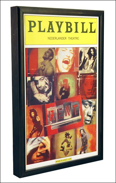The Basic Playbill Magazine Frame - The Economical Way to Display ...