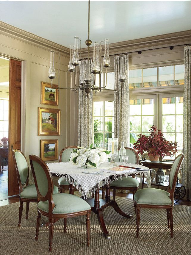Insidesign With Images Green Dining Room Stylish Dining Room