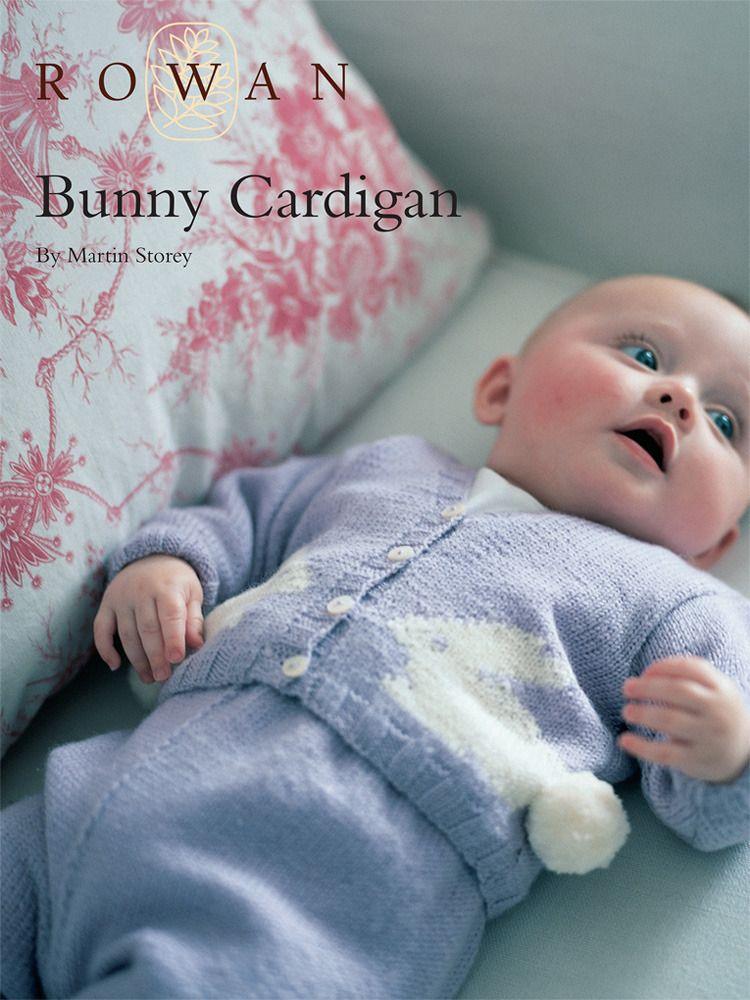 FREE knitting pattern: Bunny Cardigan in Rowan Pure Wool 4 Ply ...