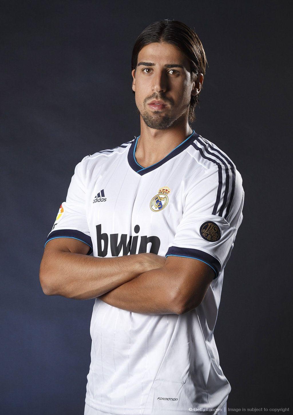 Sami Khedira The Swabian Power Real Madrid Sami Khedira Mens Tops