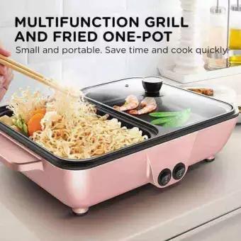 WS001 Singlelife Korean samgyup Multifunction Electric Hot Pot Grill Griller No Ratings | Lazada PH