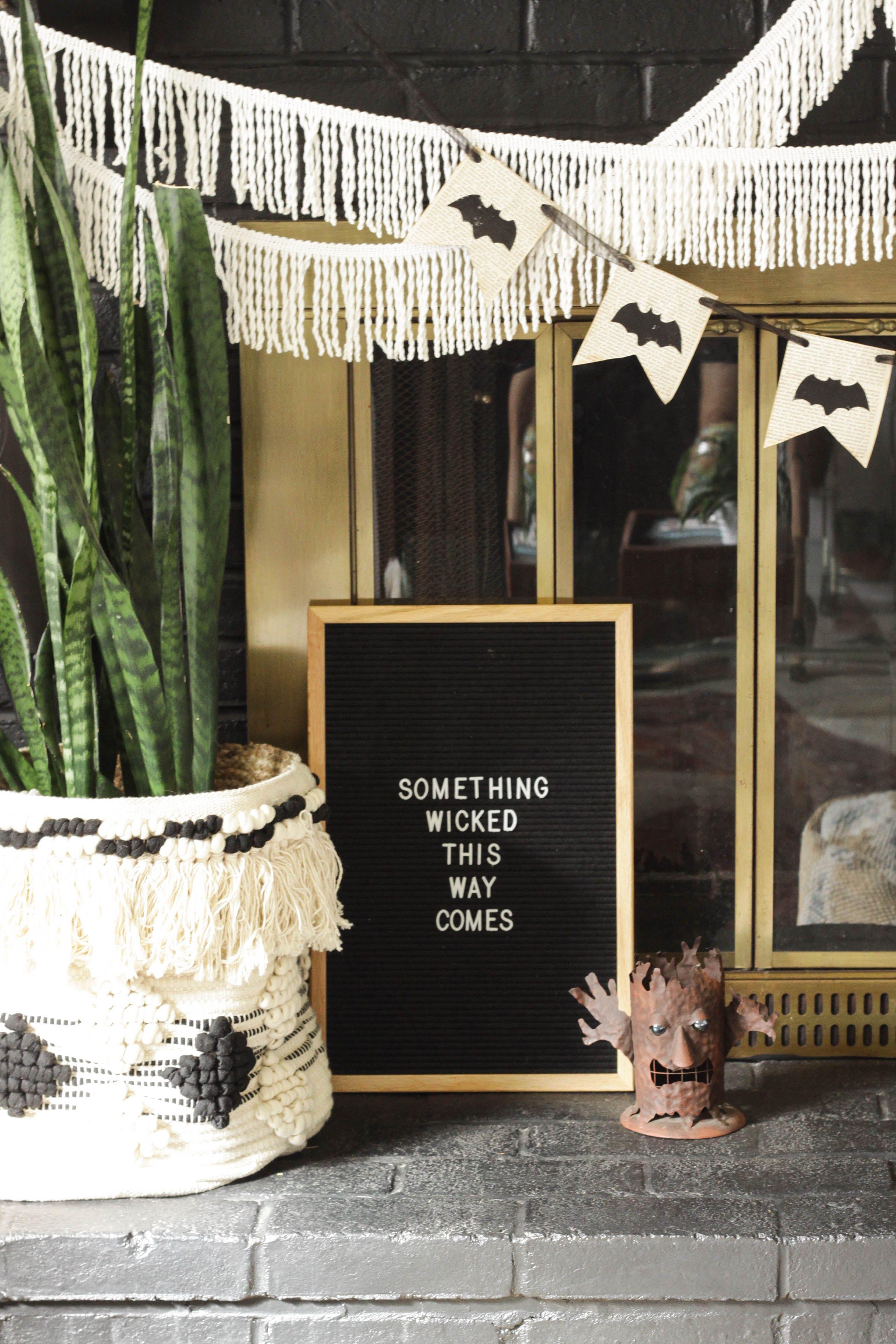 halloween letter board Google Search Halloween letters