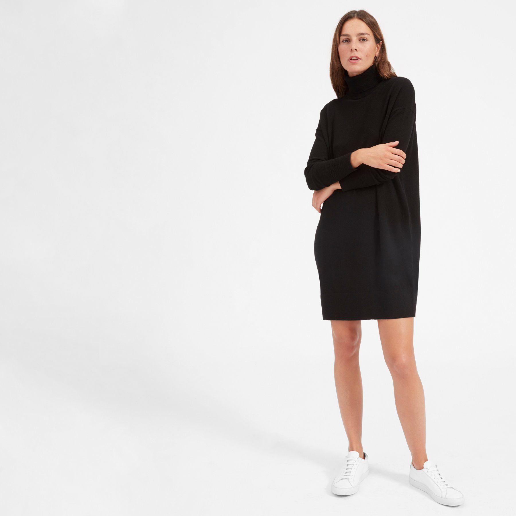 fd322c4dd07 Women s Cashmere Turtleneck Dress