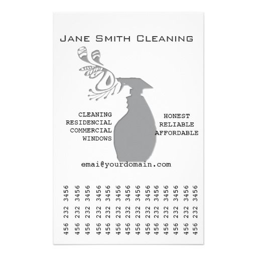 Window House Cleaning Business Services Flyer Design Custom
