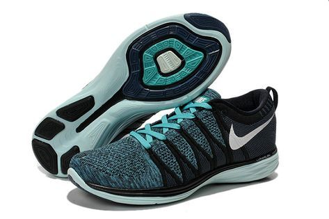 b5afb134e189 Authentic New Arrival 2018-2019 Men Nike Flyknit Lunar2 Lunar 2 Sport  Turquoise Obsidian Teal 620465 004