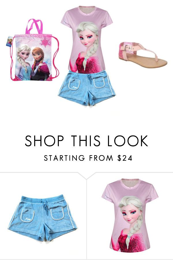 """""""ana first day of school"""" by raneebug22 on Polyvore featuring Disney"""