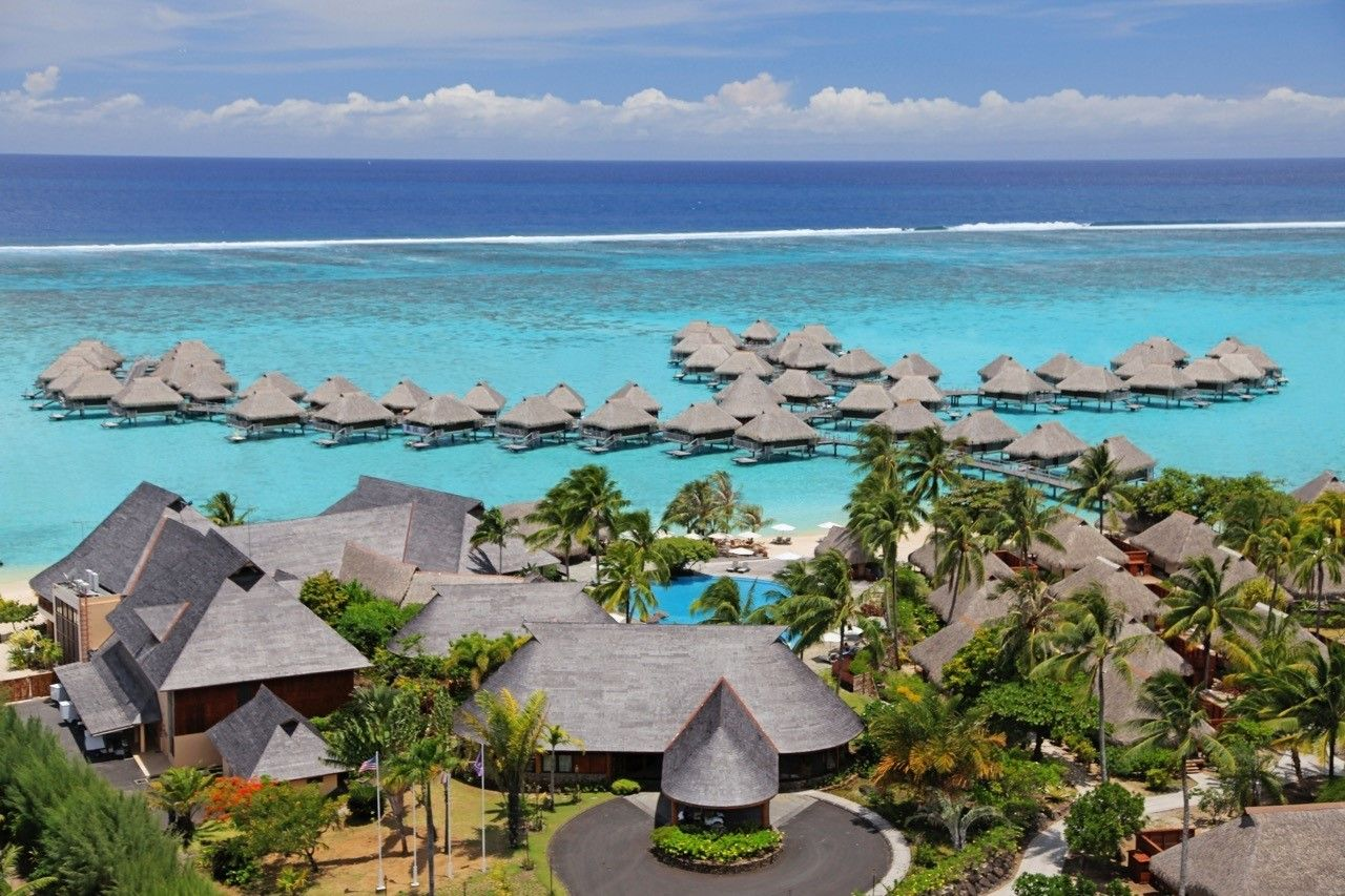 Hilton Moorea Lagoon Resort And Spa Overwater Bungalows