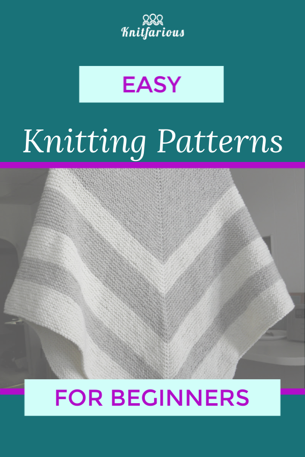 Photo of Beginner Knitting Patterns: Garter Stitch