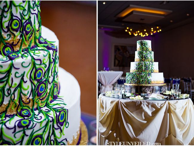 Chicago Wedding / Peacock Details / Just Love Me Photography