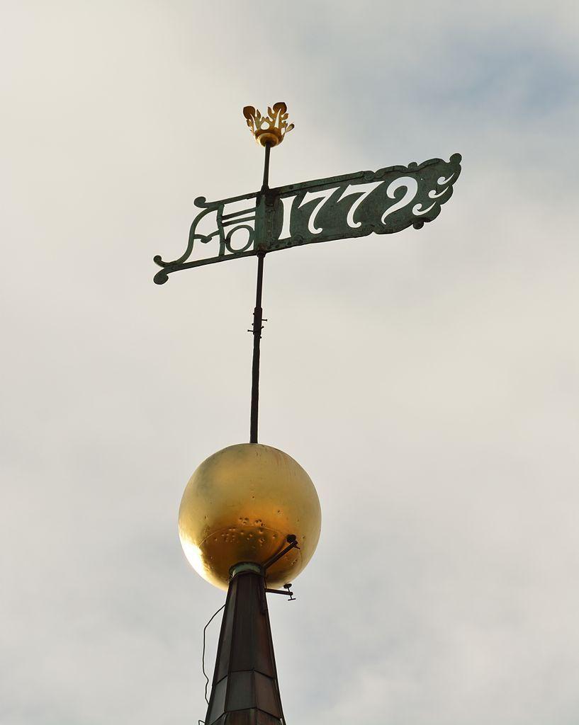 Tallinna Toomkiriku torni muna ja tuulelipp