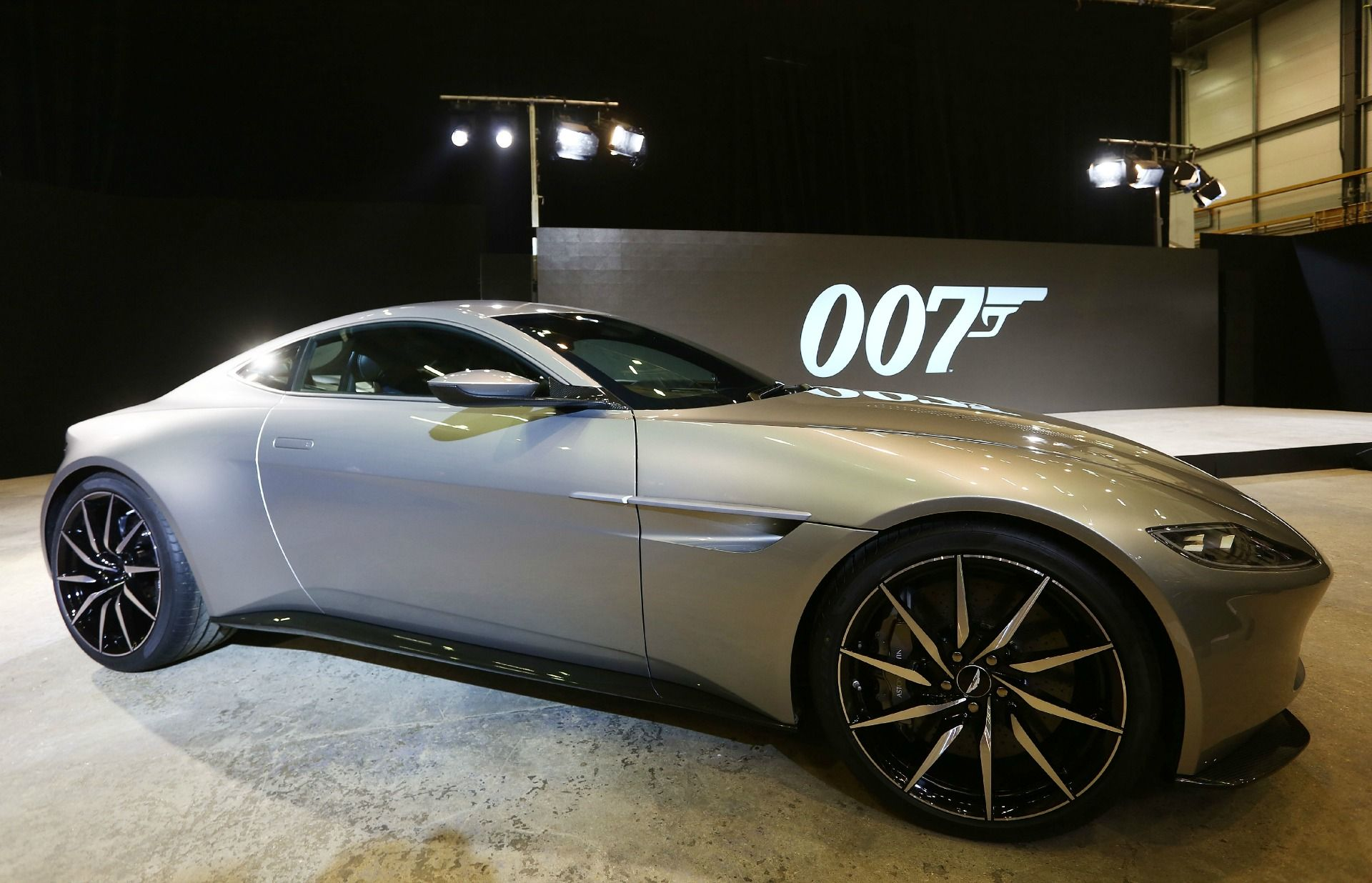 007's stunning new car. aston martin. also revealed was the