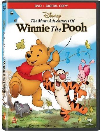 Many Adventures Of Winnie The Pooh DVD + Digital Copy