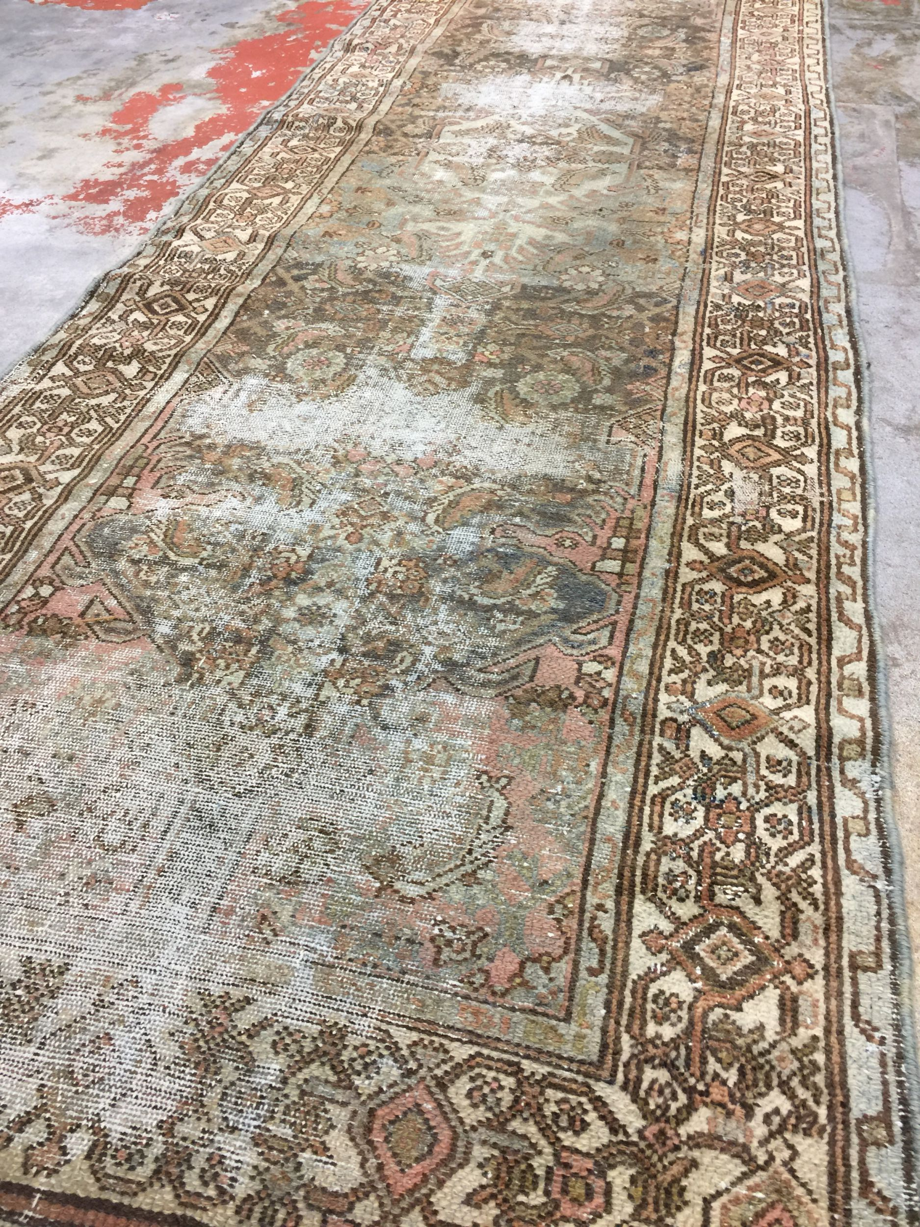Vintage Persian Runner Rug 2 10 X 9 6 Hamadan Malayer Rug Persian Rug Runners Rug Runner Carpet Runner