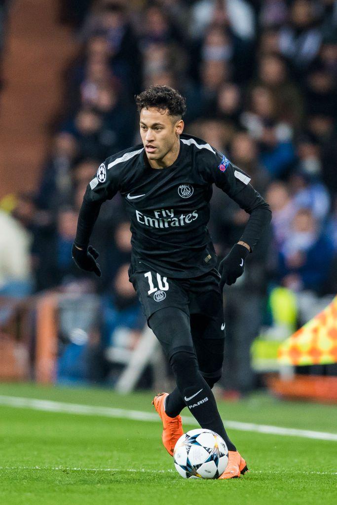 MADRID, SPAIN - FEBRUARY 14: Neymar da Silva Santos Junior ...