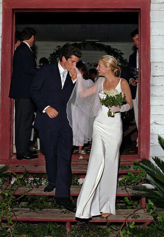 Photo of 1420 – JOHN F. KENNEDY JR. & CAROLYN BESSETTE WEDDING PHOTO (…etc)