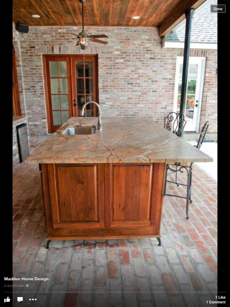 Legs To Raise Cabinets Off Ground Great For Cleaning Underneath With Pressure Washer Outdoor Kitchen Pool House Kitchen