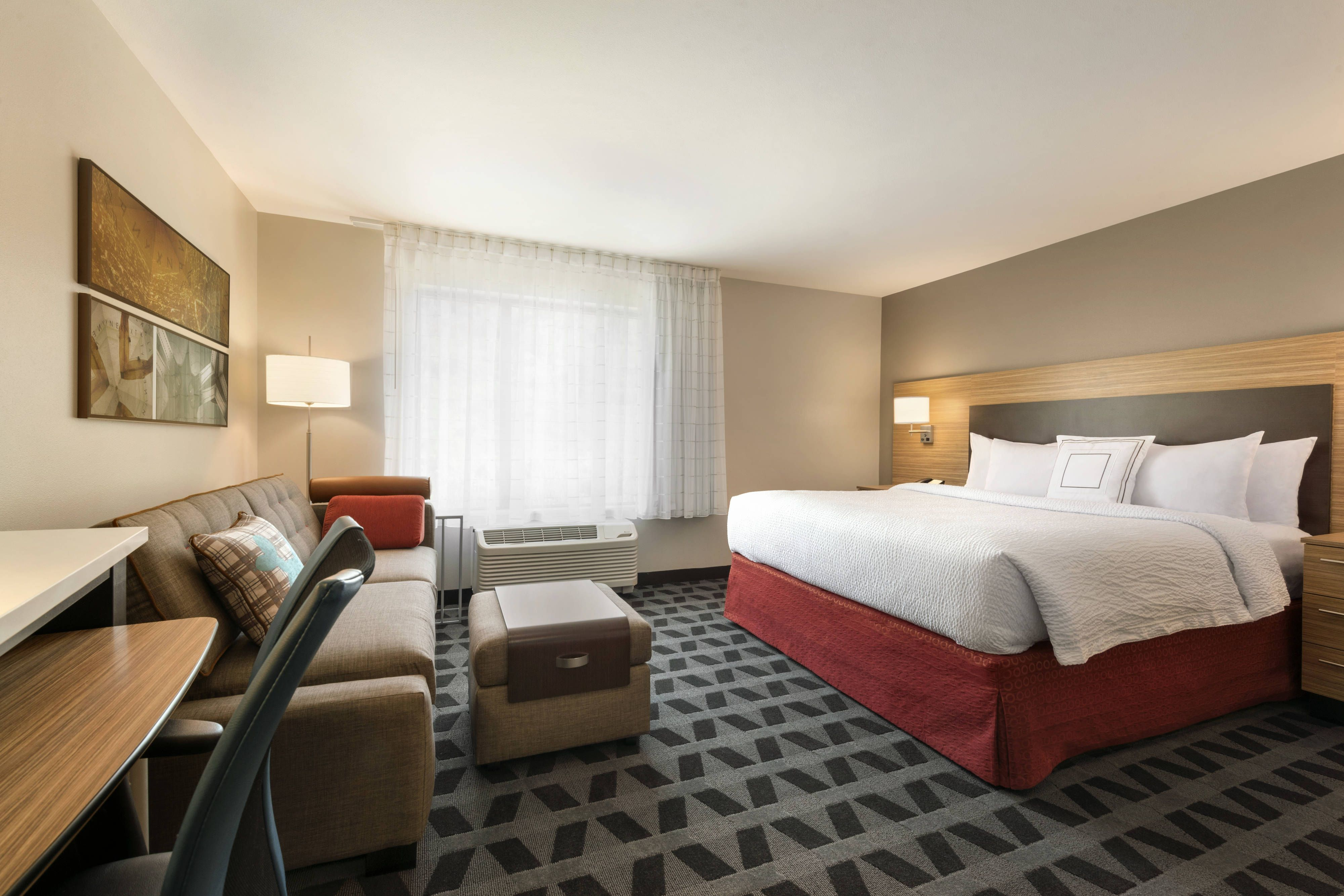 Towneplace Suites Pittsburgh Airport Robinson Township King Studio