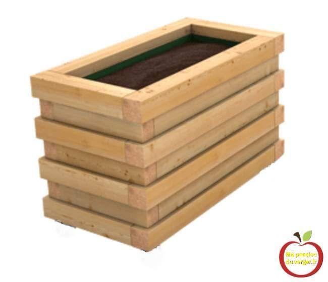 Le petit bac pour terrasse et balcon spécial permaculture -bac en
