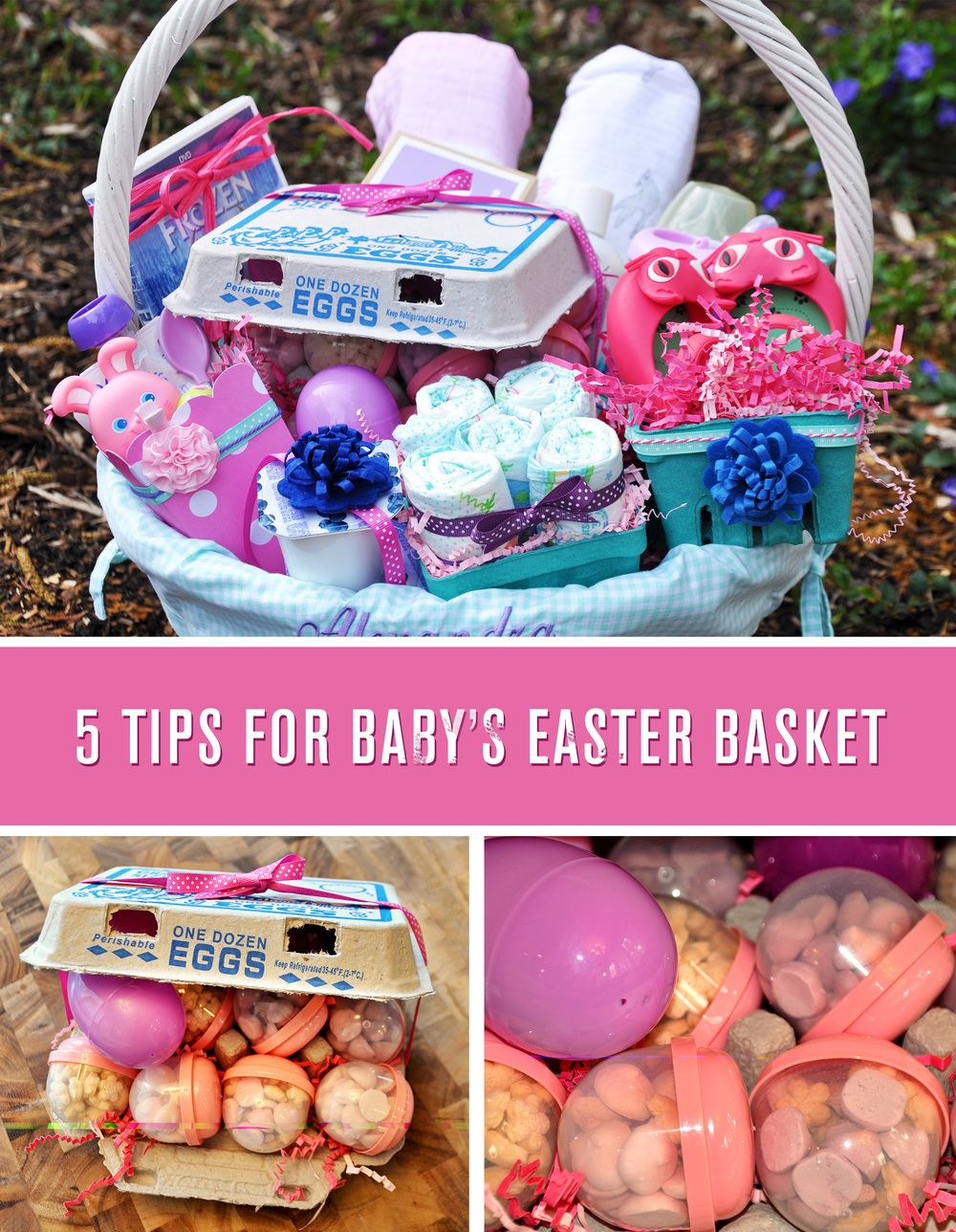 Babys first easter basket easter baskets valentine gift baskets babys first easter basket negle Image collections