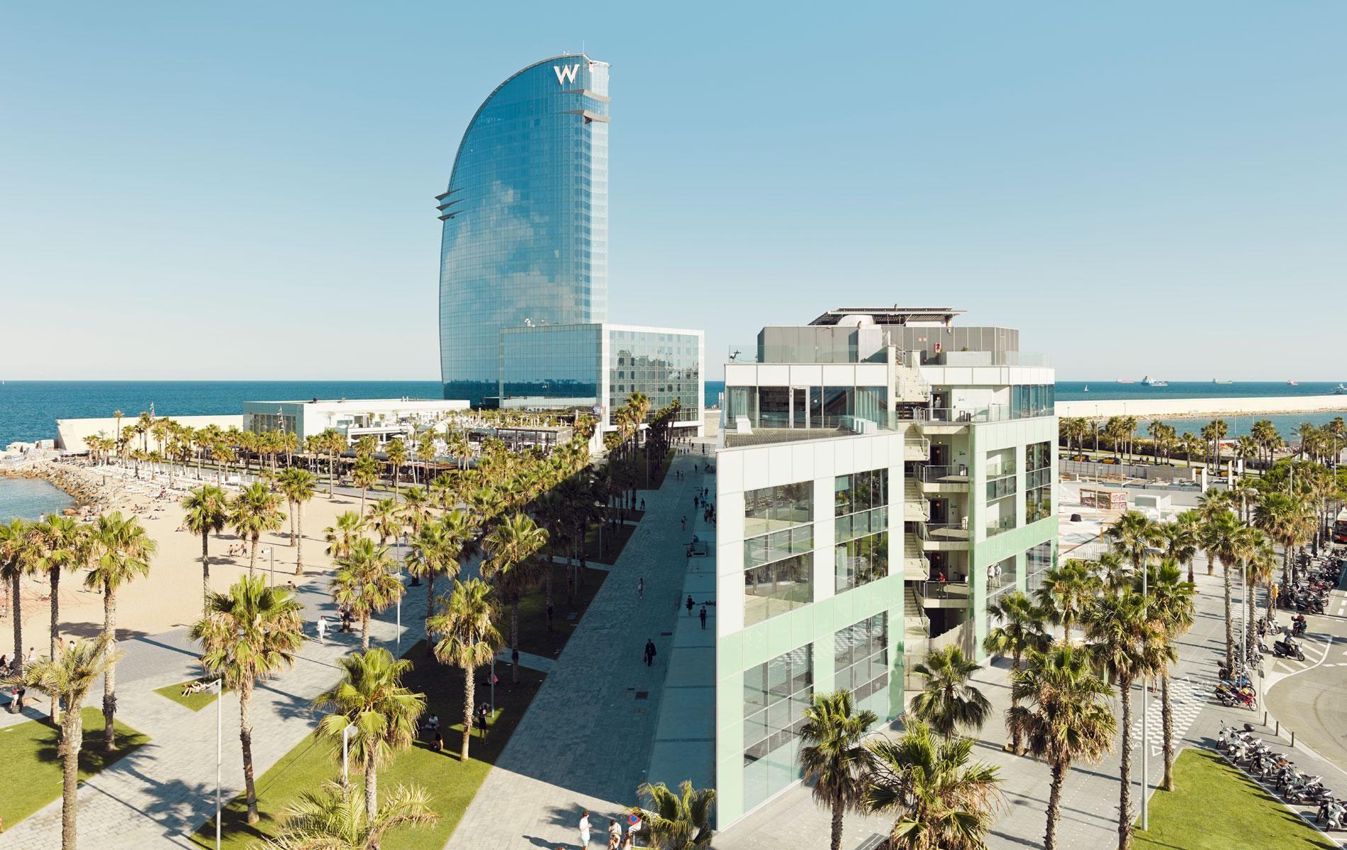 Desigual Headquarters in Barcelona by Ricardo Bofill Taller de Arquitectura on archello