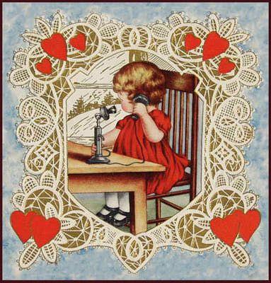 20 Free Clip Art Designs for Valentines Day  Vintage valentines