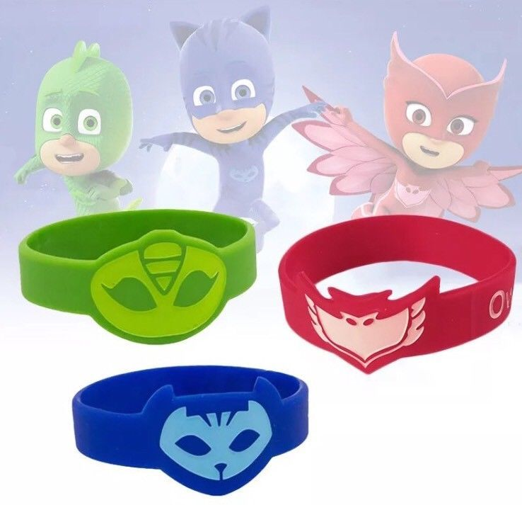 Batman Silicone Wristband Party Bag Fillers Pack of 4