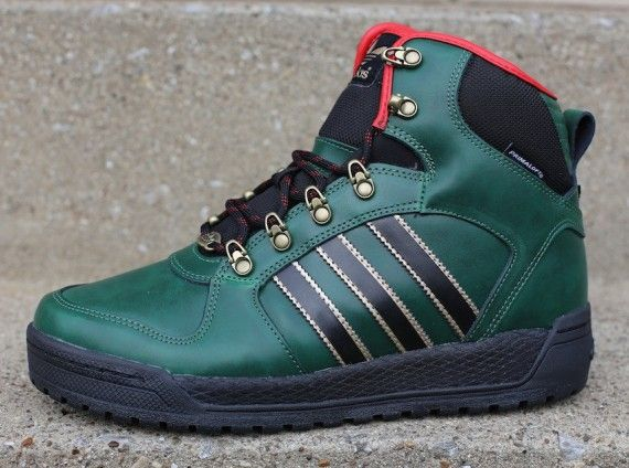 adidas Winter Ball - Green - Black - Red - SneakerNews.com ...