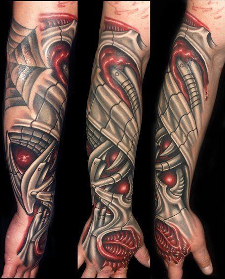 Biomechanical Arm Tattootattoo Body Artnet Biomechanical Arm Tattoos Tattoos Roman Tattoo Biomechanical Tattoo