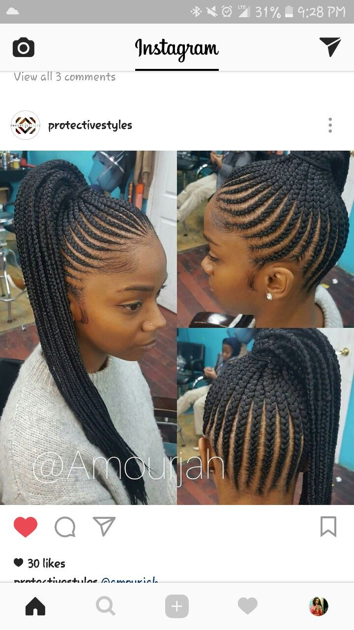 Pin by keiyana on braids pinterest hair style cornrows and natural