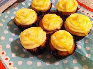 Triple Lemon Cupcakes