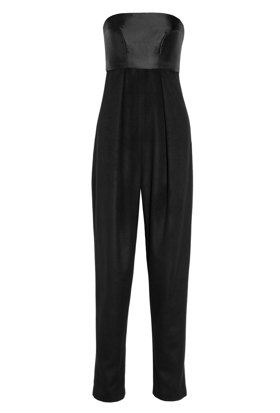 The Row Topa Silk-satin And Cashmere Jumpsuit - was $4190.0, now $1257.0 (70% Off). Picked by olga @ Outnet.com