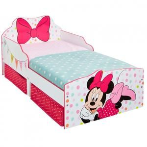 Disney Minnie Mouse Single Bed With Drawers Uk Noveltycharacter