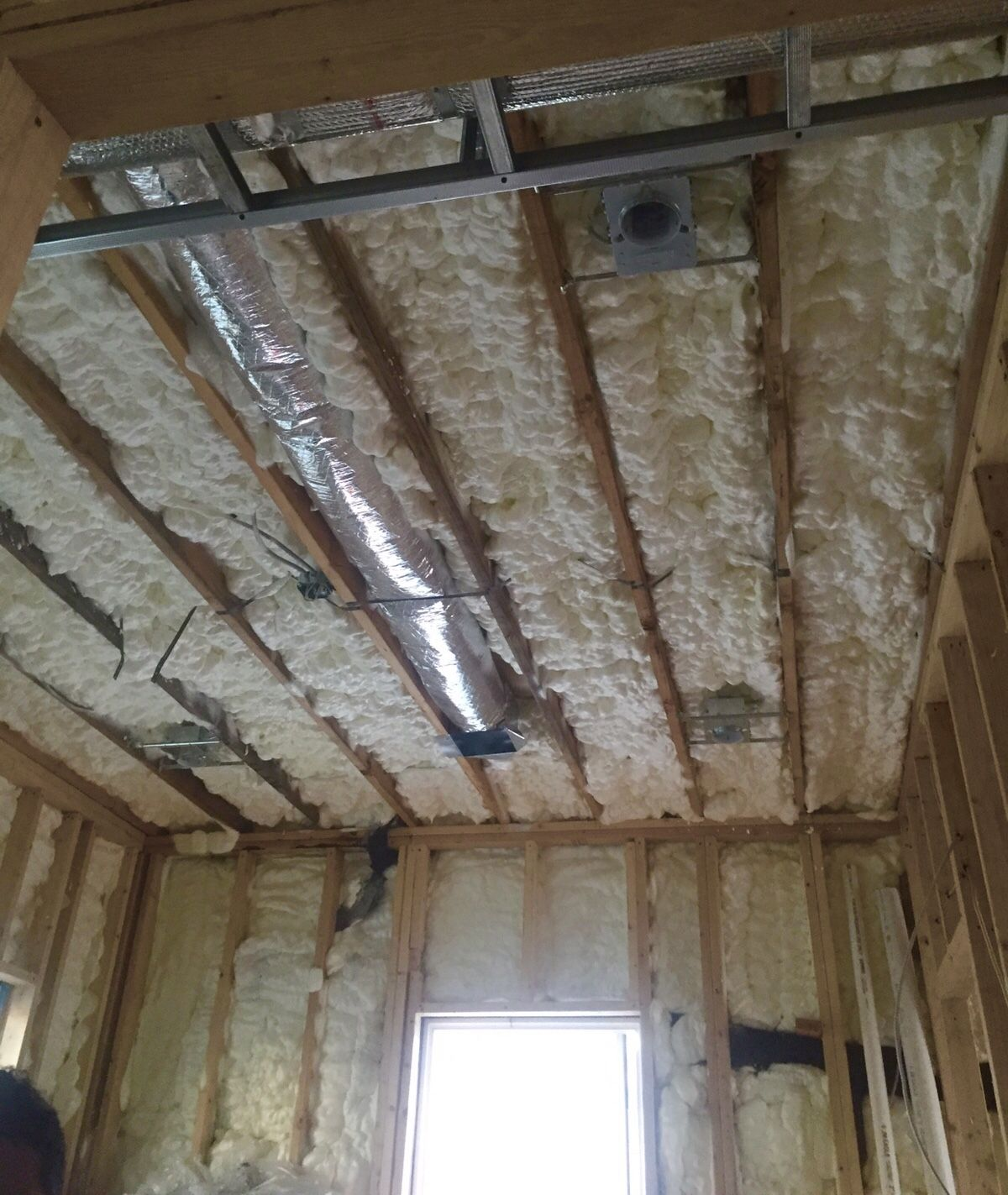 Wall ceiling spray foam insulation will save you up to 50 on your wall ceiling spray foam insulation will save you up to 50 on your energy costs solutioingenieria