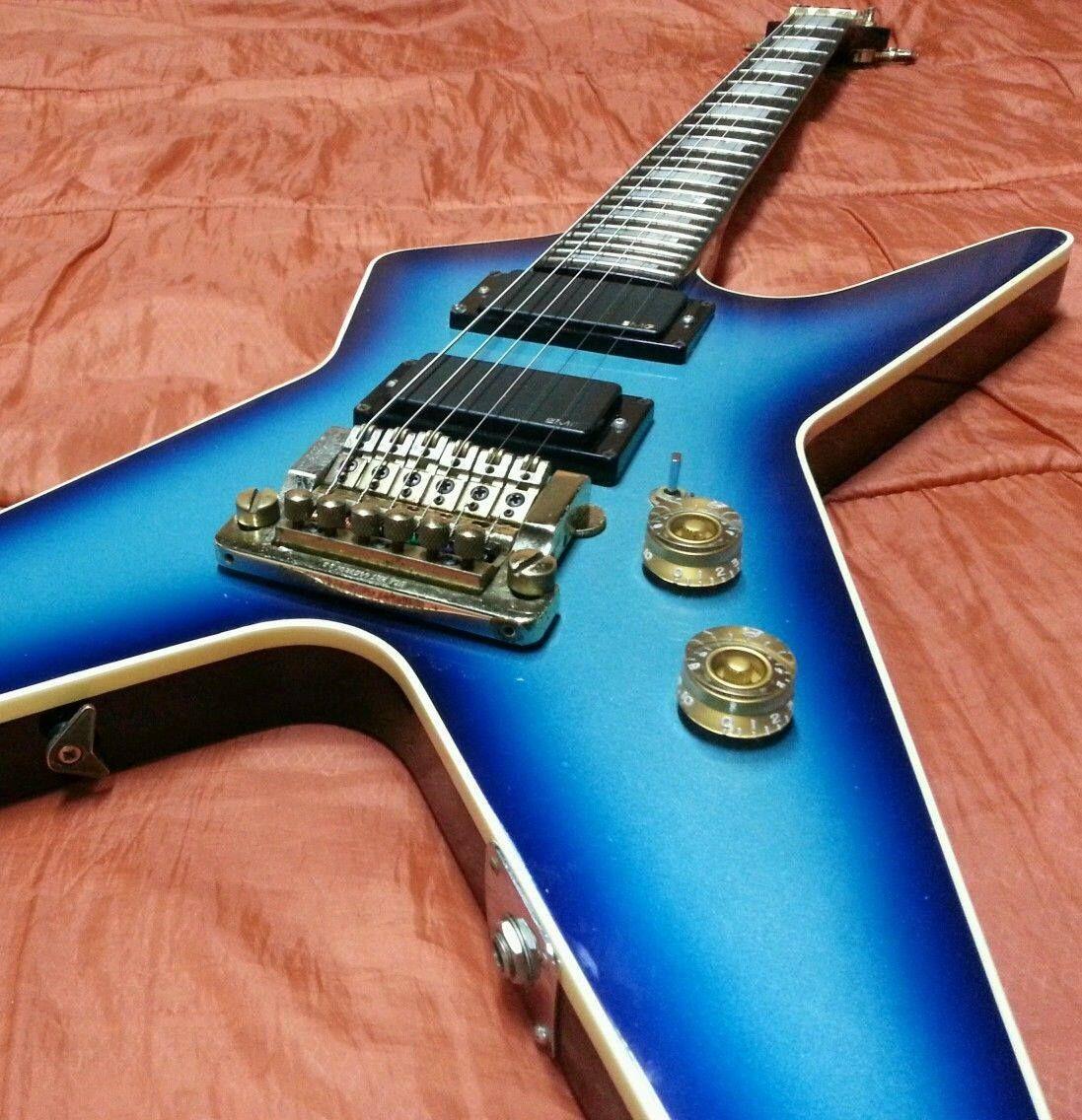 Dean guitar with a Kahler tremolo   Guitars with Kahler