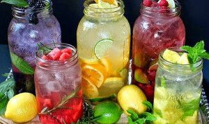 Como hacer aguas saborizadas caseras