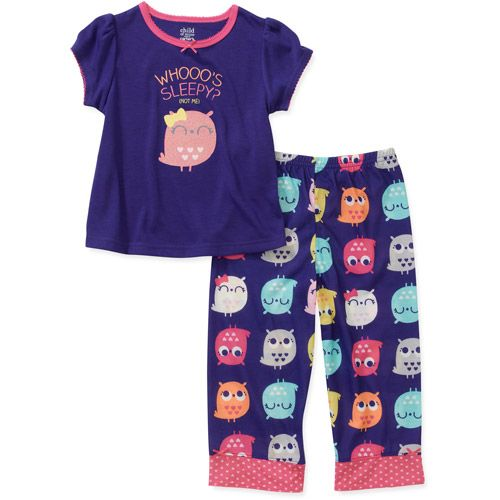 Child of Mine by Carters Baby Girls' 2 Piece Owl Short Sleeve ...