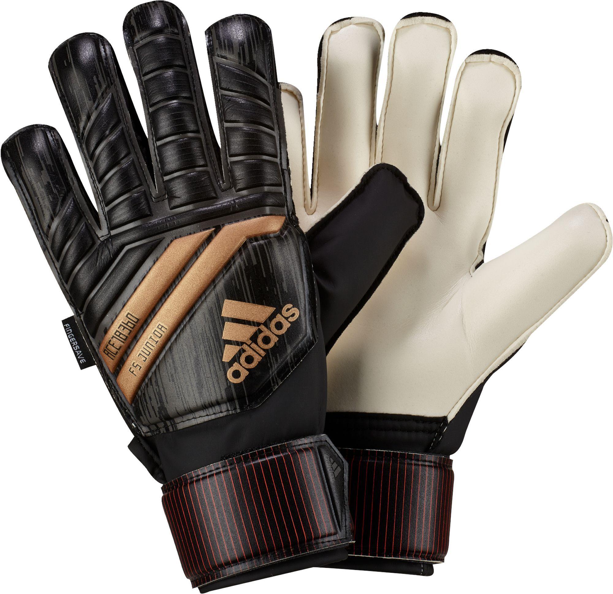 e202c3c052a6 adidas Predator Fingersave Junior Soccer Goalkeeper Gloves