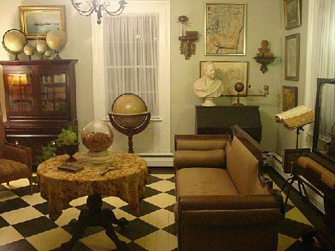 1920s Parlor Love The Old Globes With Images 1920s Home