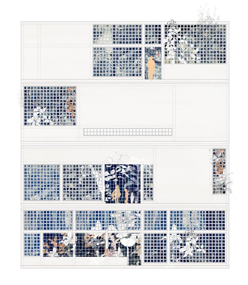 visible certainty - imaginariosugestivo: Flora House. Draftworks...