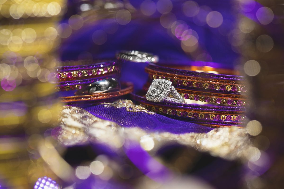 Small Of Purple And Gold Wedding