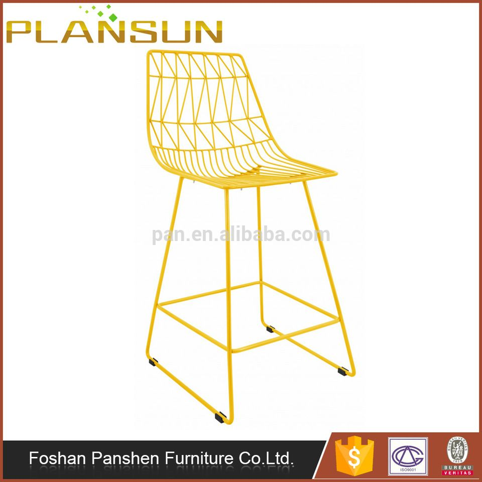 High quality Hot sale Pub counter furniture Lucy Wire Bar Stool
