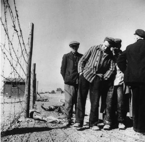 Margaret Bourke-White  Inmates of the Number Three Erla Work Camp