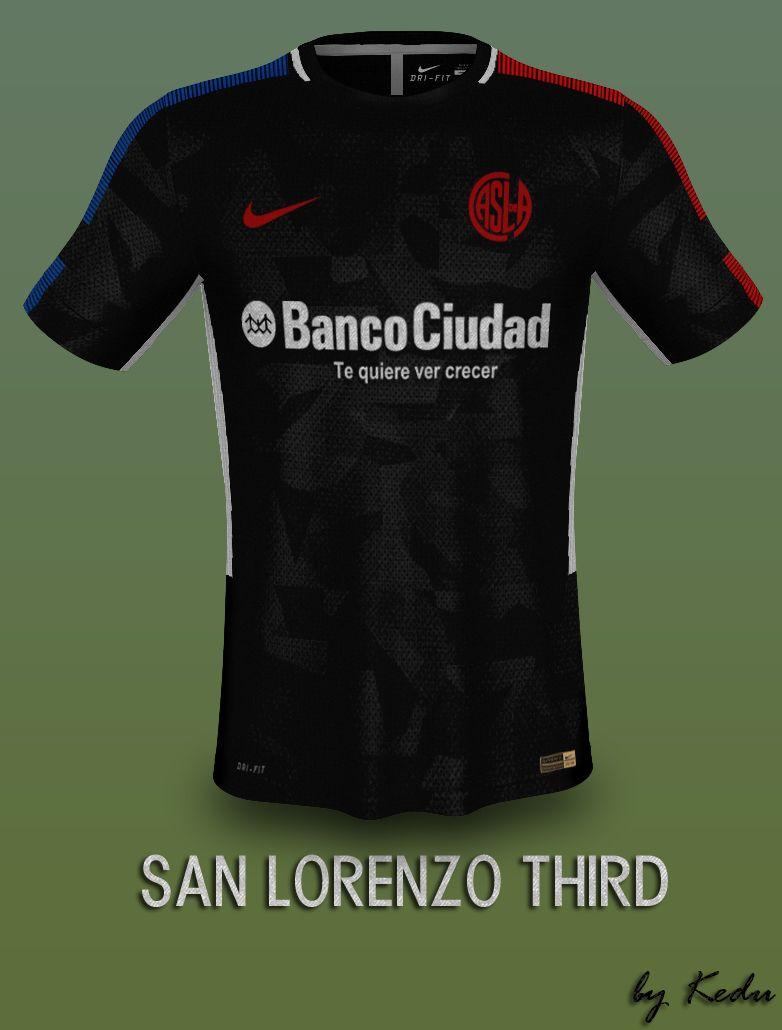Nike Camisetas Third De Fantasay Diseño Kit Futbol San Lorenzo UwAWEq6